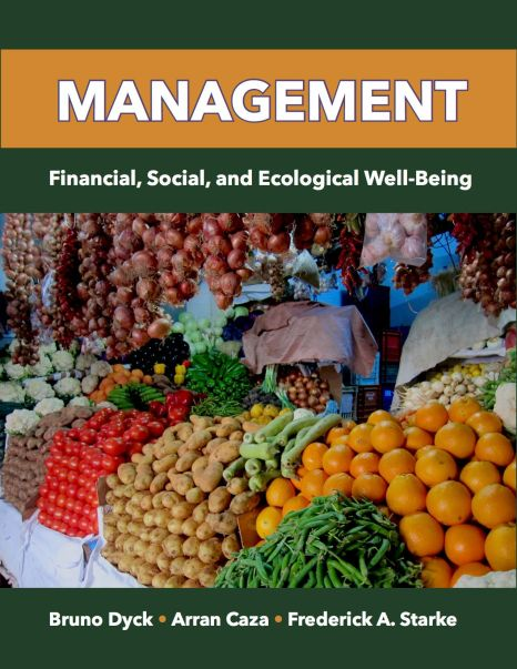 Management: Financial, Social, and Ecological Well-Being (U.S. version)